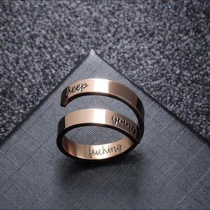 Jewelry - Keep Going Ring